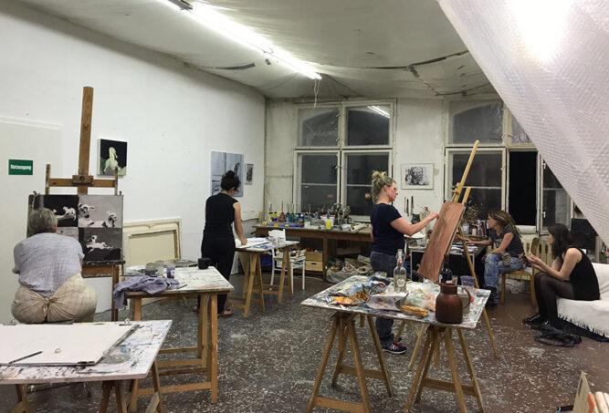 Malkurs im Offenen Atelier