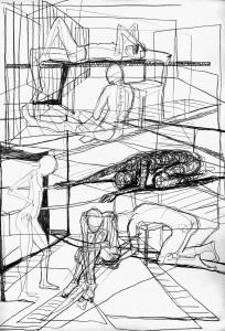 Innenarchitektur zeichnen lernen  Zeichenschule Ottenbreit | Malen und Zeichnen lernen in Berlin