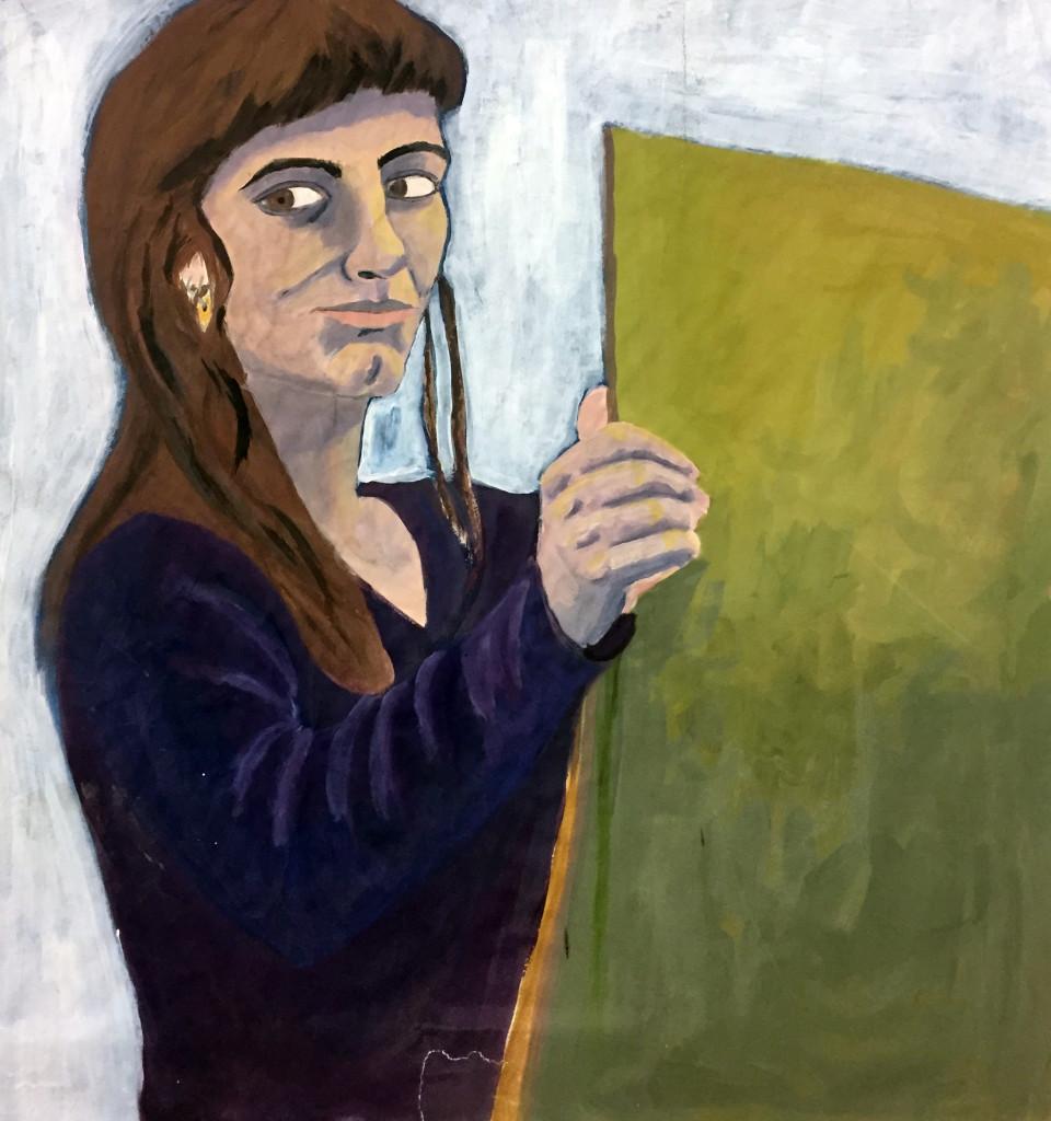 Clorinda Malerei
