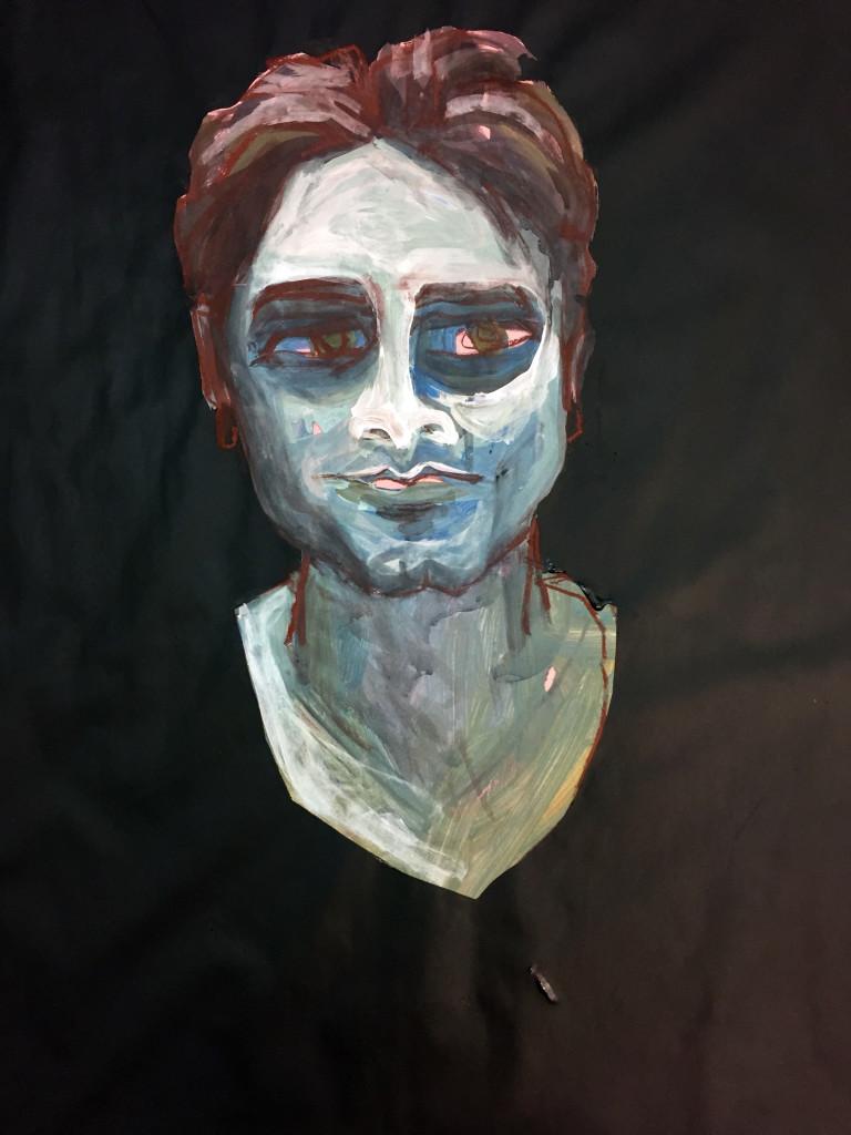 Malerei KOpf
